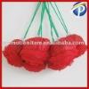 Round Handle Foldable rose shopping bag