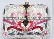 2012 fashion crystal bag for lady