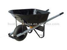 Pb-free and UV stable powder coating.,wheel barrow WB6013