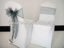 fashionable organza chair sash
