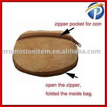 Bear Coin bag with non woven bag inside