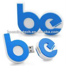 Blue 4GB letter USB Stick