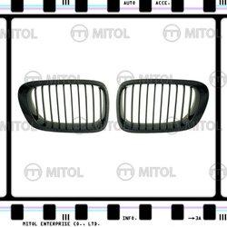 Carbon Fiber Front Grille for BMW E46 2D Car Grills Auto Accessories