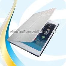 newest production crystal back case for ipad mini