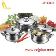 JPS-801 Hot Selling Stainless Steel Cooking Pot /Sauce Pot/Casserole
