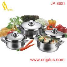JPS-801 Cheap 10pcs Aluminum Baked Enamel Cookware