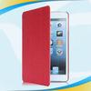 High grade newest smart cover slim pu leather case sleep wake stand for ipad mini