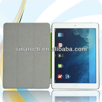 Buy direct from china factory orange leather case for ipad air with keyboard