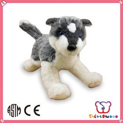 GSV certification lovely animal cheap custom cute plush big big wolf toys