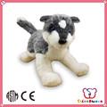 fábrica icti ruedasbonito animal personalizados baratos lindo lindo lobo de peluche de juguete