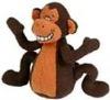 multipet deedle dudes monkey dog toy