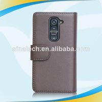 Attractive new style flip leather case for lg e400 optimus l3