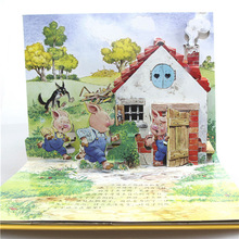 Customized graphics and wordings english story book for kids