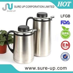 1.6l high grade stainless steel vacuum jug vacuum coffee pot