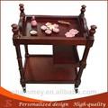 legno prezzo ragionevole massaggio di bellezza trucco carrello bellezza di legno trolley cosmetici la terapia sedia