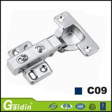 High performance high range 45 degree shower door hinge for blind corner cabinet