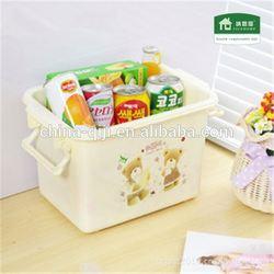 2014 Foldable Storage Bag Clothes Organizer Box food grade plastic container