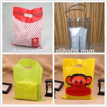 Fancy retial package oem die cut for gift carry bag