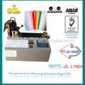 2014 la venta superior JS-909 automático modo caliente hs código para máquina de corte de cinta