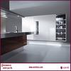 Practical american style double basin luxury long bathroom vanity cabinet