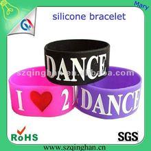 2012 London Olympic gym silicone bracelet/wristband