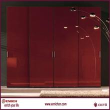 Passionate Red oak bedroom furniture wardrobe