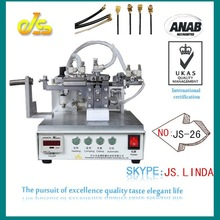 High speed top sell JS-26 fully automatic multi dock station for iphone ipad IPEX terminal crimping machine