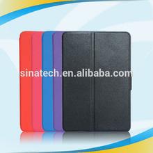 2014 Slim Flip PU leather for ipad mini ultra thin leather case white