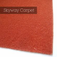 Non woven needle punched polyester velour carpet on sale