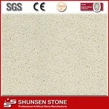 Prime Quality Beige Artificial Quartz Stone for indoor decoration