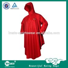 Custom waterproof rain poncho rain cape rainwear raincoat