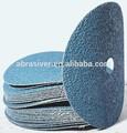 de fibra de discos abrasivos para pulir