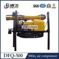 Martelo DTH ar operar DFQ-300 chão buraco máquina de perfuração