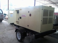 Global Service 150KVA Engine open type tow hitch