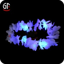 Wedding Decoration Blue Lights Silk Hawaiian Leis