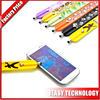Portable Plastic Capacitive touch Pen Wrist Stylus Pen universal touch pen