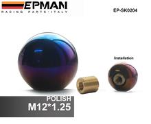 EPMAN -Polish M12 x 1.25 Full Titanium shift knobs/Jdm gear knob/knob handle For Scion Subaru EP-SK0204