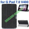 3-folding Fashion Ultrathin Leather Case for LG G Pad 7.0 V400