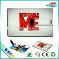 personalizado logotipo de la tarjeta de negocios 1tb flash tarjeta de memoria