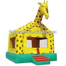 Giraffe inflatable bounce house