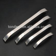 Modern stainless steel kitchen cabinet door handle