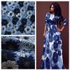 Cotton spandex printed dress fabric