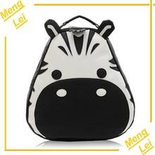 2014 new design waterproof children animal leather backpack