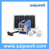 Saip/Saipwell New Design Home and Camping Use 10W/20W/30W/40W/50W/60W Mini Solar Power System