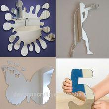 Customize design acrylic mirror ornaments