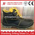 buffalo negro de cuero de la pu suela de ancho de acero del dedo del pie característica gorra de construcción barata de trabajo zapatos de seguridad mejor venta de zapatos de seguridad precio