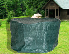 outdoor furniture/garden table cover / PE cloth round table cover