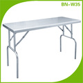BN-W35 COSBAO stainless steel folding table for laundry