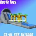 Adulto escorrega inflável para venda, grande deslizamento inflável slide, mesmo grande deslizamento inflável piscina