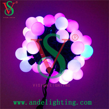 New items in market China wedding occasion lights led string ball lights